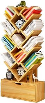 QiXian Estantes Organizador para Libros Estantería Estantería ...