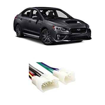 61llA4VhsEL._SY355_ amazon com subaru wrx 2015 2016 factory stereo to aftermarket 2014 Scion tC Radio Rear at webbmarketing.co