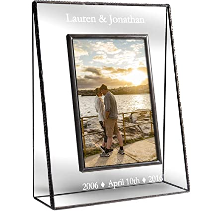Amazon.com - J Devlin Pic 319-46V EP549 Personalized Anniversary ...