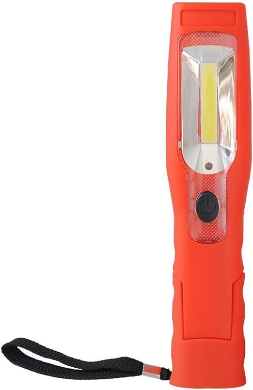 Cclife Akku 3w Cob Led Arbeitsleuchte Mit Magnet Aufladbare Werkstatt Inspektionslampe Taschenlampe Mit Haken Magnetfuß Beleuchtung