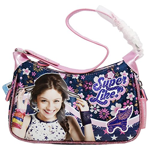 Disney Soy Luna Superlike Borsa Baguette da Bambina a Mano a Spalla con Tracolla