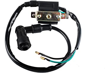 Bobina de conector de bujía de encendido niños Quad//Dirt Bike// 2 cables
