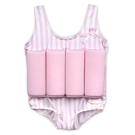 Bañador flotador para niños, color rosa, ...