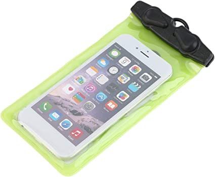 Longspeed 4 Pouce Universel /Étanche Mobile T/él/éphone Sac Cas Transparent PVC Scell/é Plong/ée sous-Marine Sac Sec Poche Cas pour T/él/éphone Intelligent