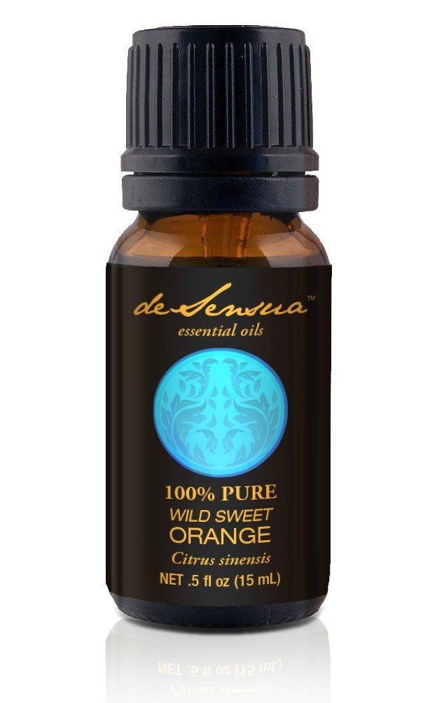 Sweet Orange Essential Oil - 100% Pure, For Professional Aromatherapists (for Home Use, see Warnings) 15 ml