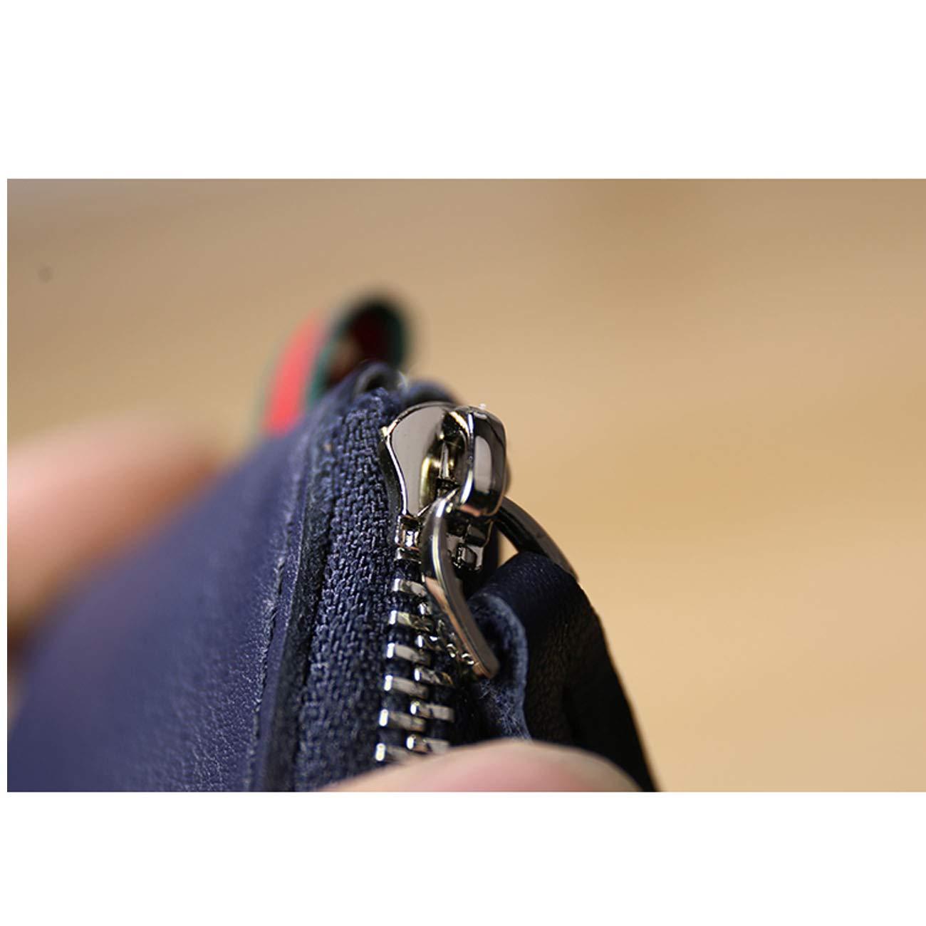 Color : Black Kalmar Money Clip Wallet RFID Blocking,Slim Wallet with Money Clip Front Pocket Wallets for Men Men with Gift Extra Capacity Travel Wallet Minimalist,Mini Slim Wallets