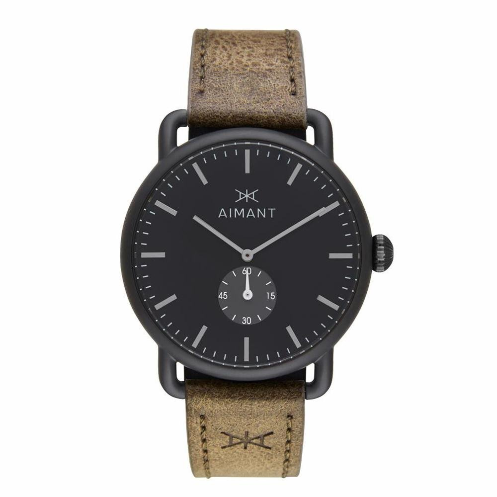 AIMANT Mykonos Watches  42 MM Men Analog Watch  Leather Strap