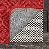 GRIP MASTER 2X Extra Thick Area Rug Cushioned Gripper Pad (8' x 10'), for Hard Surface Floors, Maximum Gripper and Cushion for Under Rugs, Premium Protection Pads, Many Sizes, Rectangular