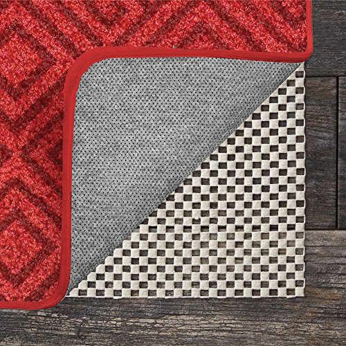 GRIP MASTER 2X Extra Thick Area Rug Cushioned Gripper Pad, 2 Feet x 8 Feet, for Hard Surface Floors, Maximum Gripper and Cushion for Under Rugs, Premium Protection Pads, Many Sizes, Rectangular (7 X 2 Runner)