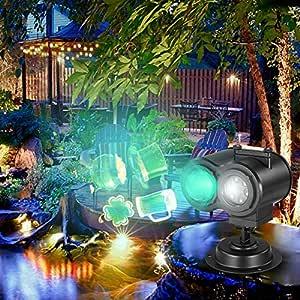 Weehey Proyección de Luz Animada Proyector LED Control Remoto Luz ...