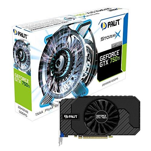Palit NE5X75TSHD41F GTX750TI StormX OC 2048MB Graphic Card NVIDIA (PCI-e GDDR5, VGA/DVI/HDMI, 1x GPU)