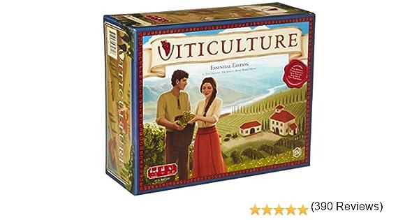Stonemaier Games- Viticultura: Edición Esencial, Colores Variados ...