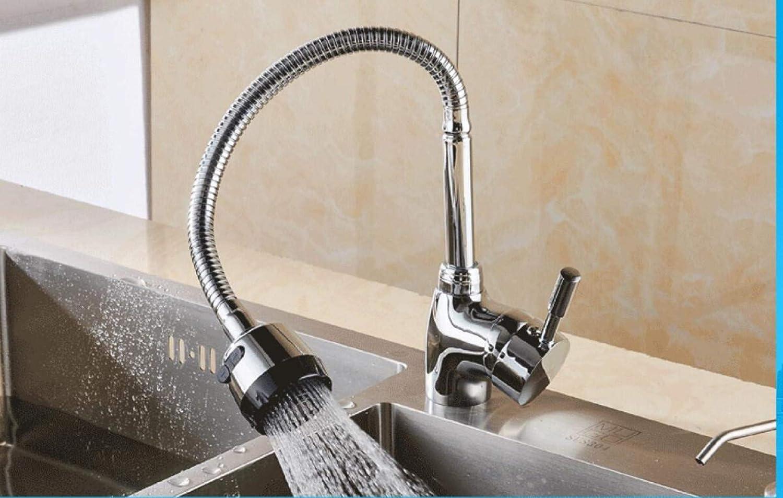 Wasserhahn Küche Küchenarmatur Spültischarmatur Warm Und Kalt Waschen gemäße Versenken Einheitlichen Abkühlung Universal Rotary Haushalt Becken Waschbecken