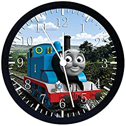 Thomas Train Black Frame Wall Clock E140 Nice For Gift or Office Home Wall Decor 10