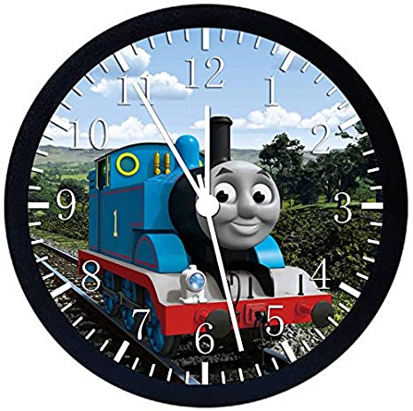 Pleasant Amazon Com Thomas Train Black Frame Wall Clock E140 Nice Download Free Architecture Designs Scobabritishbridgeorg