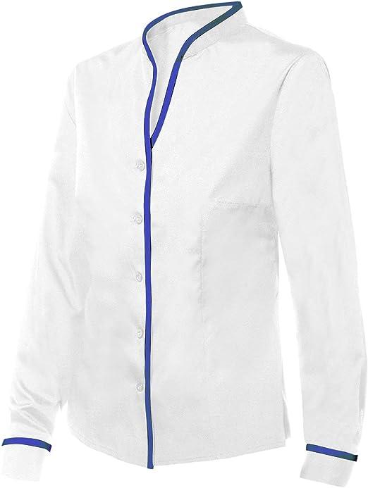 DISVEL Camisa De Mujer Entallada Blanco XXL: Amazon.es: Ropa y accesorios