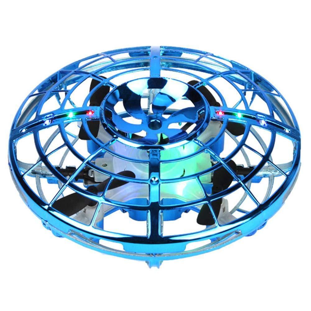 per Bambini Rosso Mini Drone a infrarossi a 4 Assi con Illuminazione LED orientabile a 360/° cineman UFO