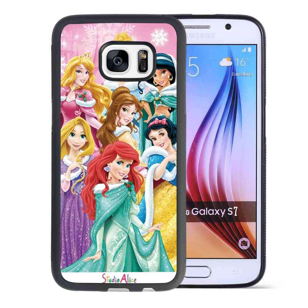 differently 72259 92853 Amazon.com: Galaxy S7 5.1 Version Phone Case Best Disney Princess ...