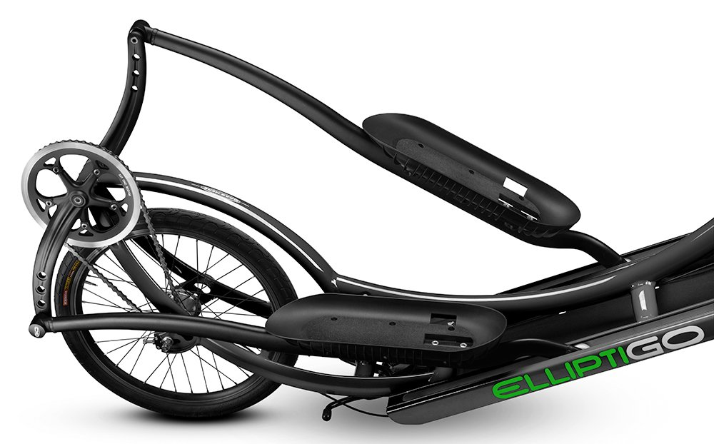 Amazon.com : ElliptiGO 8C - The Worlds First Outdoor Elliptical Bike (Black) : Sports & Outdoors