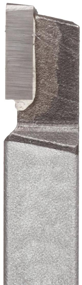 K68 Grade American Carbide Tool Carbide-Tipped Tool Bit for Straight Turning AL 8 Size Left Hand 0.5 Square Shank