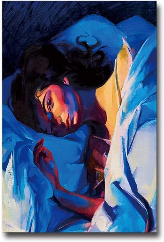 Amazon.com: QIANLIYAN Art Poster Lorde Melodrama Green ...