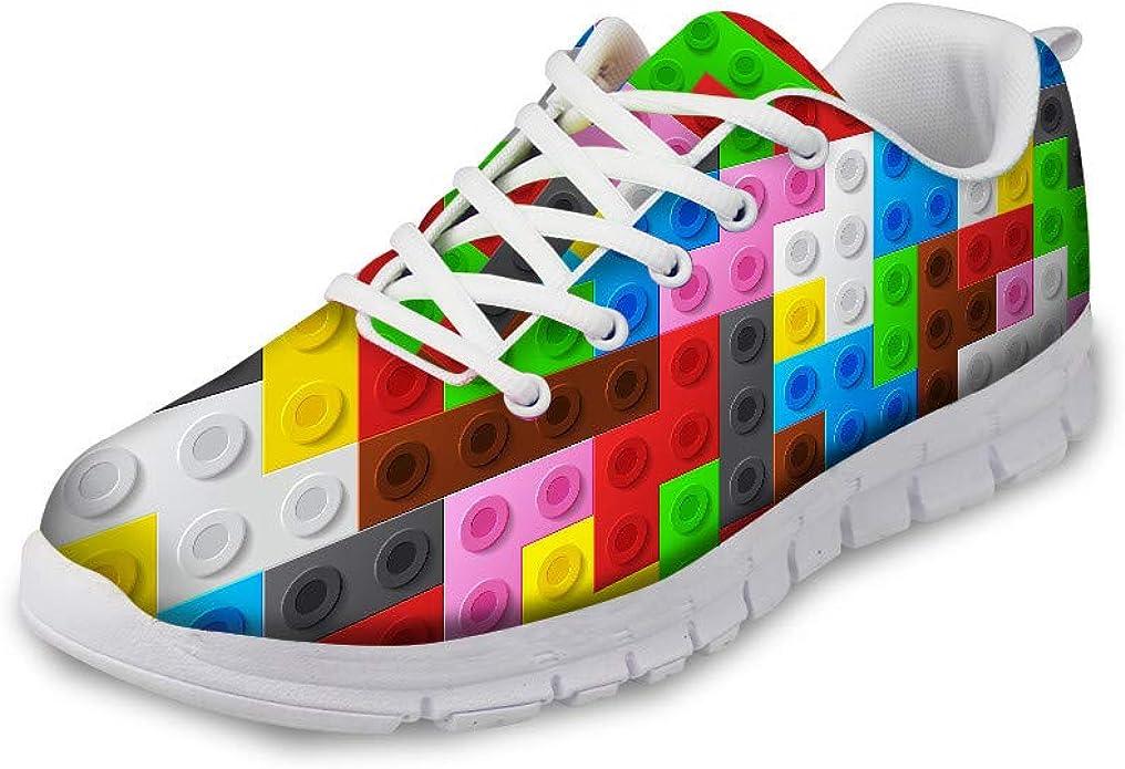AXGM - Zapatillas de Deporte para Hombre, diseño de Piedras de Colores del Arco Iris, Estilo Moderno, Ligeras, para Entrenar, para el Gimnasio y el Aire Libre: Amazon.es: Zapatos y complementos