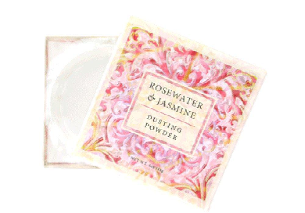 Greenwich Bay Luxury Dusting Powder w/puff (Rosewater & Jasmine) by Greenwich Bay Trading Company Greenwich Bay Trading Co. R44015