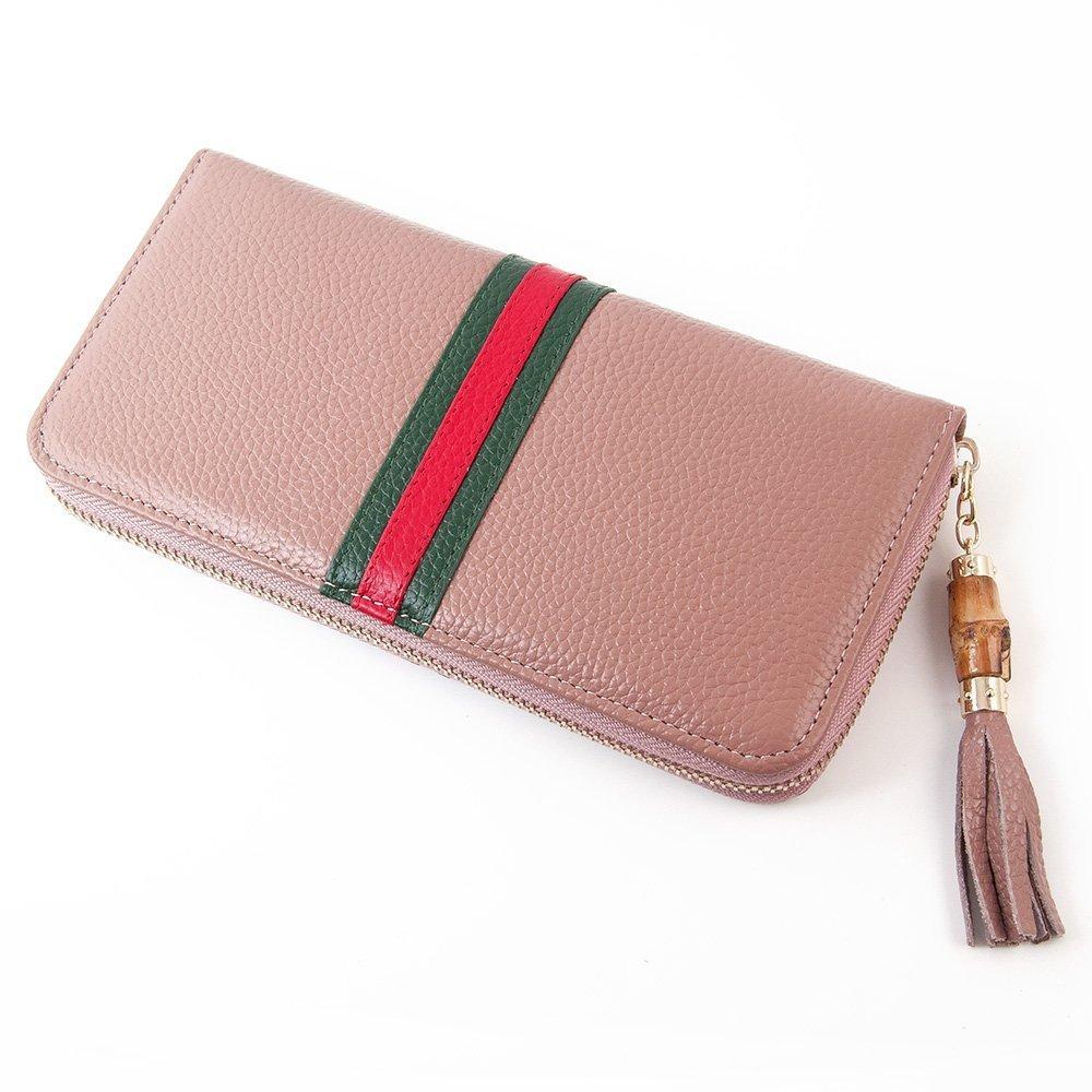Otomoll Lange Echten Lederetui Multifunktions Reißverschlusstasche Das Portemonnaie Neue Dame Handtasche