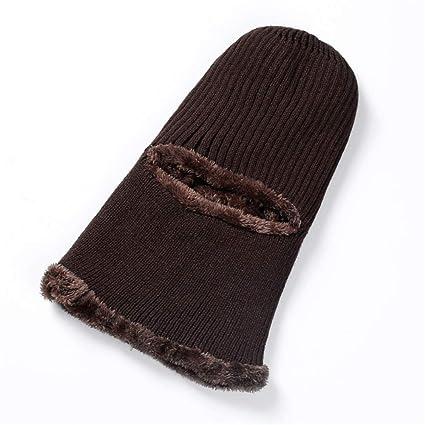 Unisex Sciare Cappello da Caccia Trooper Passamontagna da sci lavorato a  maglia Maschera da sci antivento 0a22fad98755