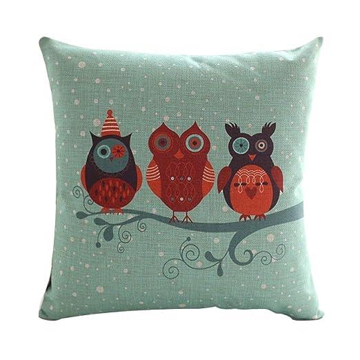 Tonesum Cute Owls Couple Lovely Kids Juegos de Cama Fundas ...