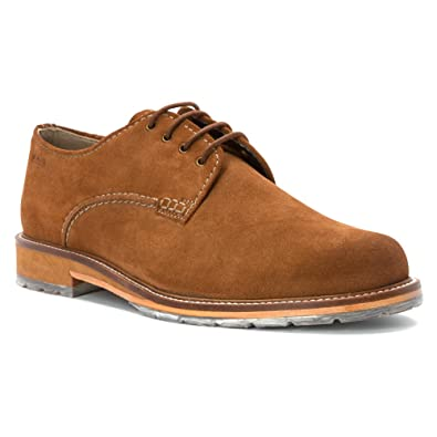 2ea59b7b37406 CLARKS Men s Arton Walk Tobacco Suede Oxford 12 D ...