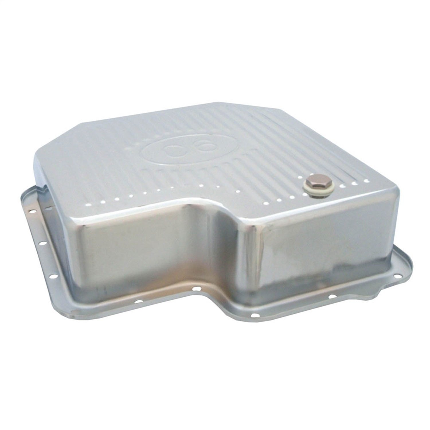 Spectre Performance 5464 Chrome Extra Capacity Transmission Pan Ford C6 by Spectre Performance