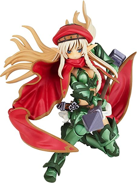 Revoltech Queens Blade No.009 Cattleya Figure Kaiyodo from Japan used