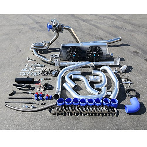 For Subaru WRX High Performance 12pcs TD05 20G Turbo Upgrade Installation Kit