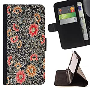 "For LG G4 Stylus / G Stylo / LS770 H635 H630D H631 MS631 H635 H540 H630D H542 ,S-type Pintura Oriental Art Rojo Negro"" - Dibujo PU billetera de cuero Funda Case Caso de la piel de la bolsa protectora"