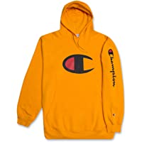 Champion Big and Tall Mens Fleece Pullover Hoodie with Big C Logo