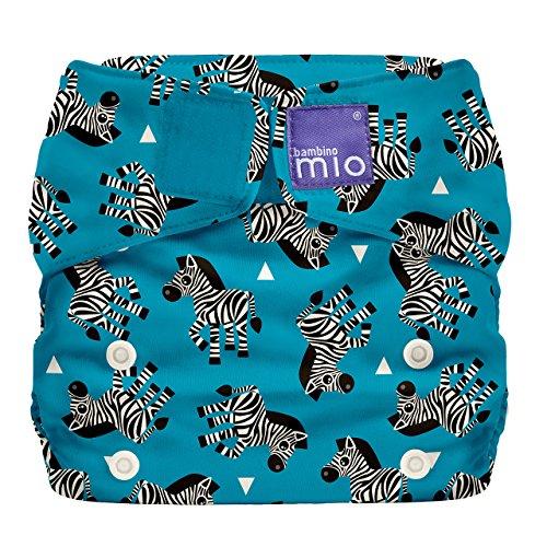 Bambino Mio Miosolo All-In-One Cloth Diaper, Zebra Crossing