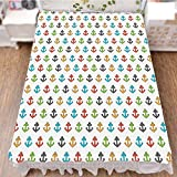 iPrint Bed Skirt Dust Ruffle Bed Wrap 3D Print,Life Colorful Graphic Tile Cute Kids Children,Fashion Personality Customization adds Color to Your Bedroom. by 59''x78.7''