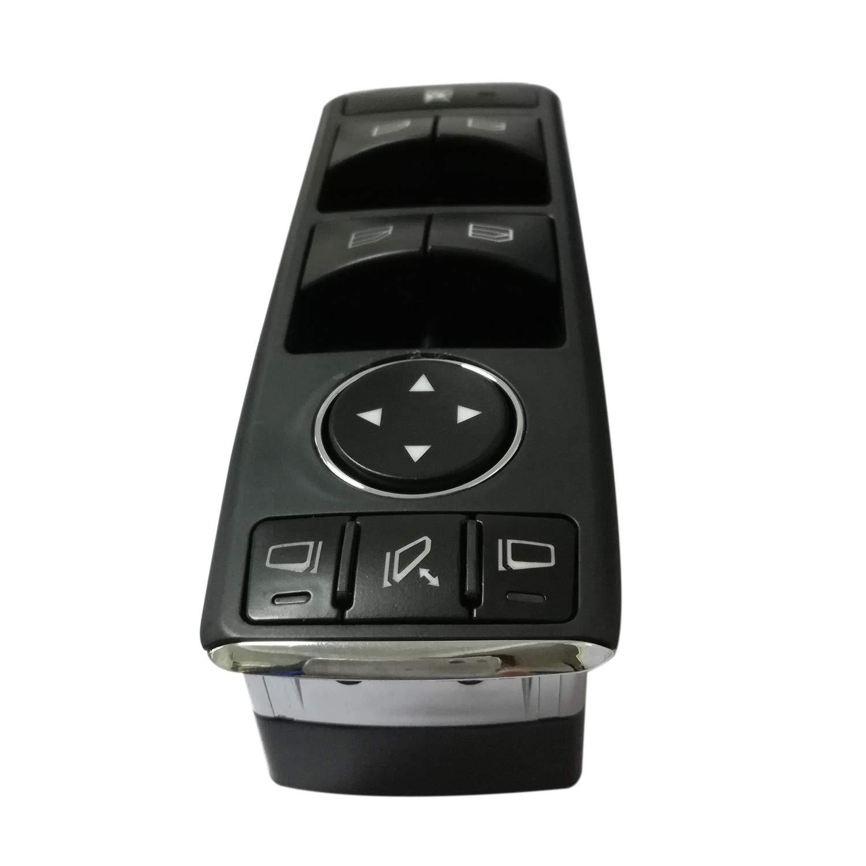 TOOGOO A2049055402 Bloc de Commutateur de Fen/être Interrupteur Principal de L/ève-Vitre /électrique pour W212 E-Class W204 C-Class 207 pour C117 G500 G550