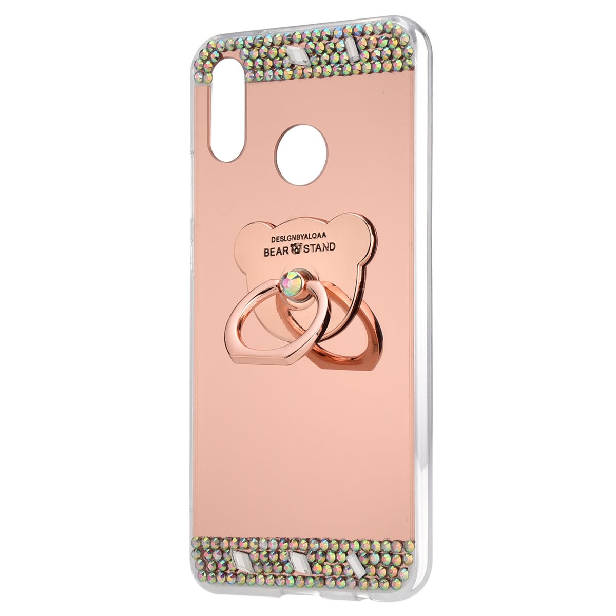 Amazon.com: for Huawei P20 Lite Case,Huawei P20 Lite Surakey Luxury Mirror Case Soft TPU Silicone Bling Diamond Glitter Crystal Rhinestone Cover Protective ...