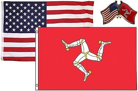 Wholesale LOT 3/'x5/' USA AMERICAN /& 3/'x5/' British Union Jack United Kingdom Flag