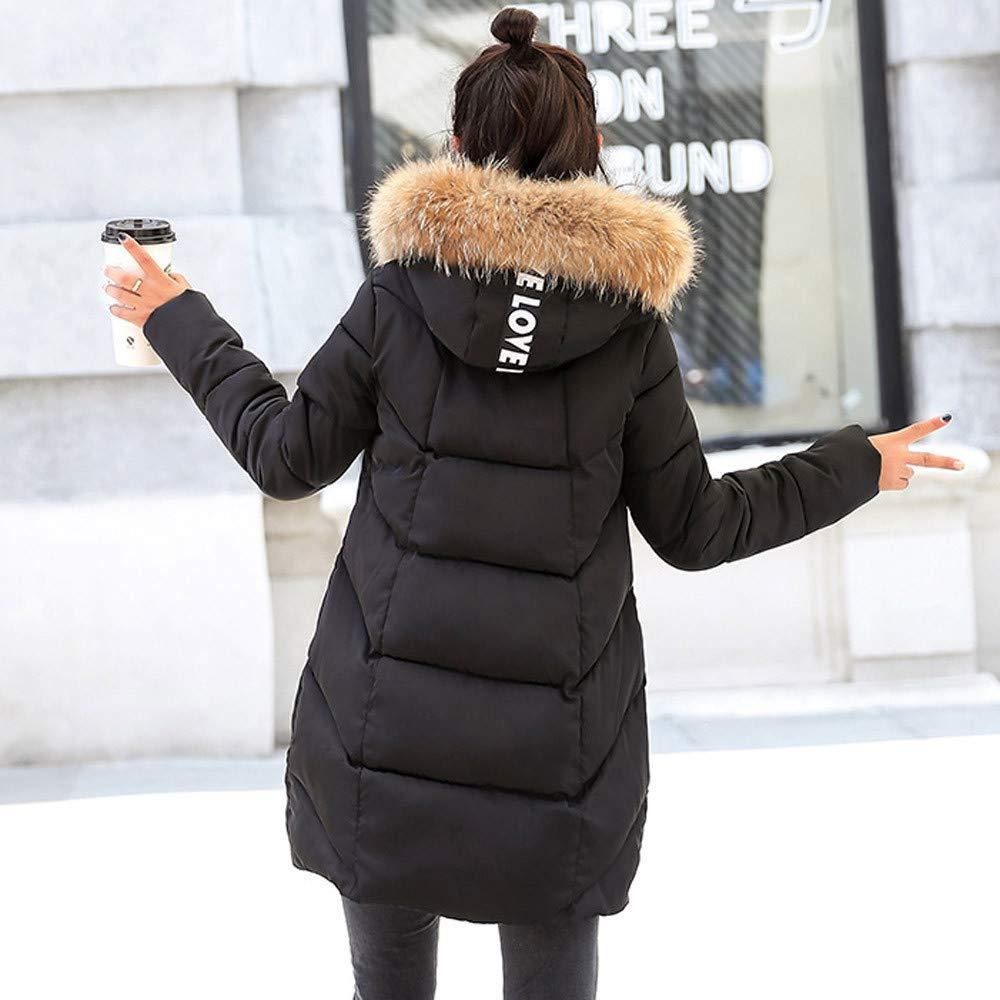 OverDose Damen Damen Damen Damen Winterjacke Wintermantel Lange Daunenjacke Jacke Outwear Frauen Winter Warm Daunenmantel Solide Lässig Dicker Winter Slim Down Lammy Jacke Mantel B07J1MZQSB Westen Hervorragender Stil a9d6d6