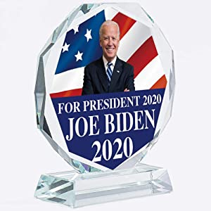 Joe Biden Election Gifts 2020 | Presidential | President | Support | Political | Plate | Plaques | Paperweight