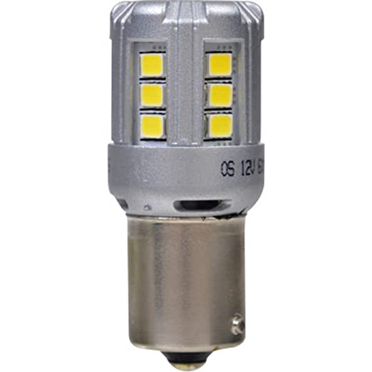 SYLVANIA - 7506 LED White Mini Bulb - Bright LED Bulb, Ideal for Daytime Running Lights (DRL) and Back-Up/Reverse Lights (Contains 2 Bulbs)