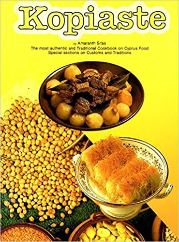 kopiaste most traditional cook book on cyprus food special