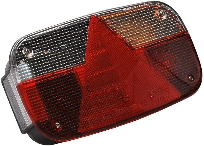 Aspöck Multipoint 3 Rückleuchte Rücklicht Für Pkw Anhänger Rechts 24 8200 007 Auto