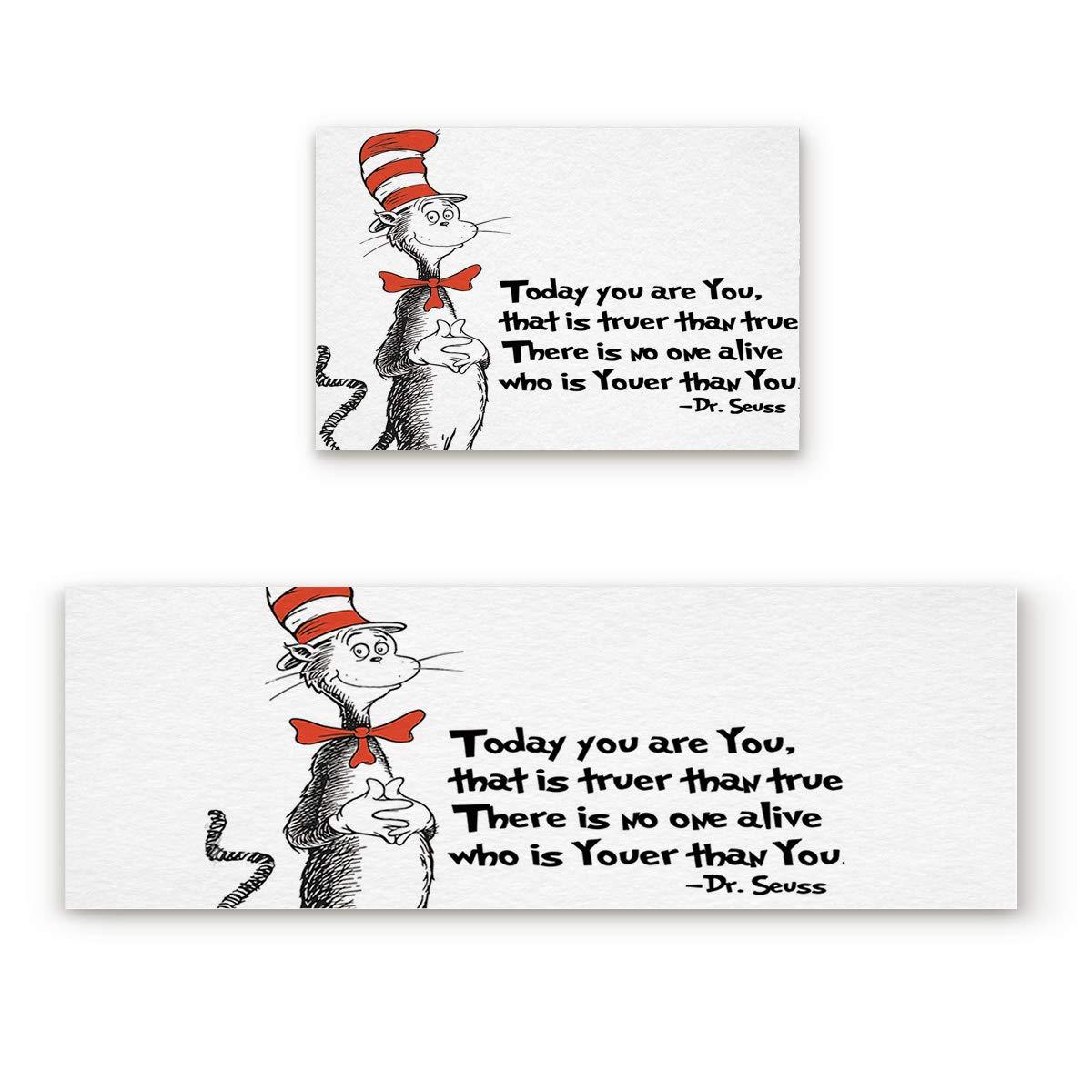 Cat11FIY2684 19.7x31.5In+19.7x47.2In Findamy Non-Slip Indoor Door Mat Entrance Rug Rectangle Absorbent Moisture Floor Carpet for Merry Christmas Cute Cartoon Elk Doormat 23.6x35.4In+23.6x70.9In