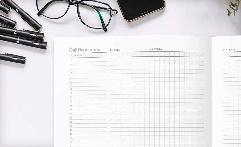 Agenda Del Profesorado 2019 - 2020: Práctico Organizador para docentes - Cuaderno del Profesor y Agenda 2019 - 2020 | Agendas Escolares para ... para ...