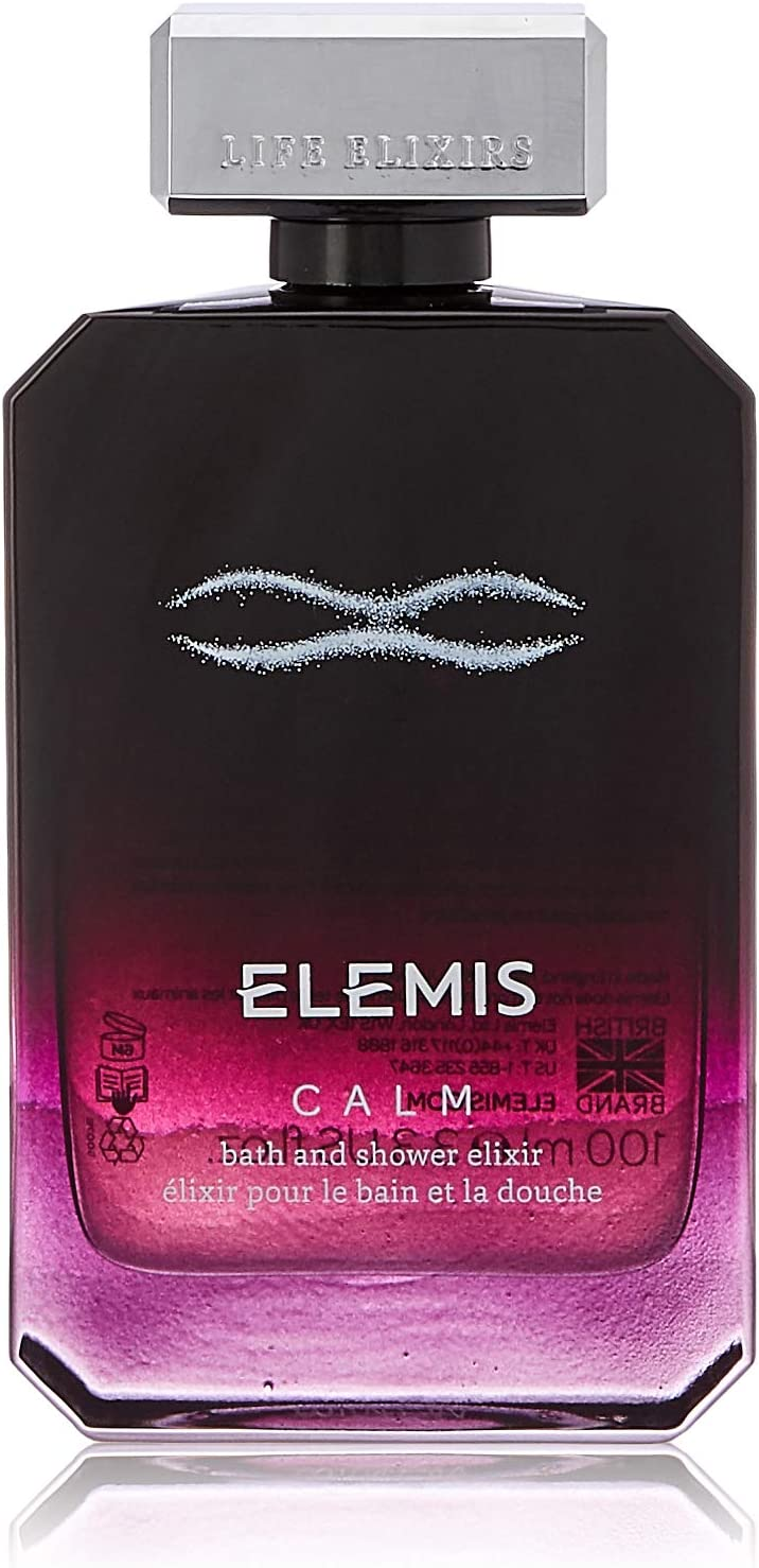 Elemis Life Elixirs: Calm Bath And Shower Elixir, Skin Conditioning Bath And Shower Oil
