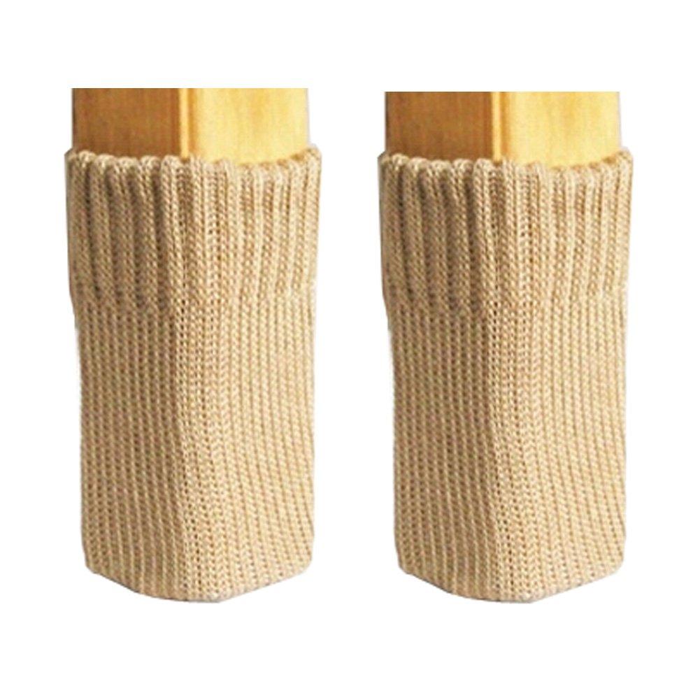 Kylin Express 32 PCS Chair/Table Durable Leg Pad Furniture Knit Socks Floor Protector (A3)